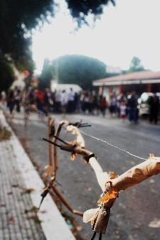 """2 luglio, Processione dei Pastori, Odore dei """"Fuochi"""" a Serra Venerdi."""