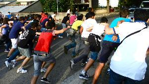 Processione dei Pastori - Viale Europa - 2 Luglio 2011