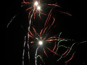 splendidi festoni di luce.. disegnati nel cielo del 2 luglio 2011 come nessun pittore saprebbe far meglio.