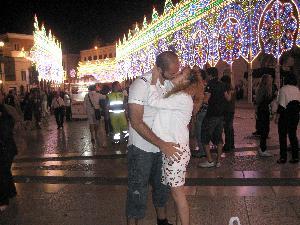 Dopo Hayez e Vancouver...il bacio di Juju