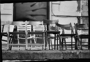 le sedie legate fanno parte della tradizione