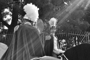 08.30 del due luglio un raggio di luce sui Cavalieri