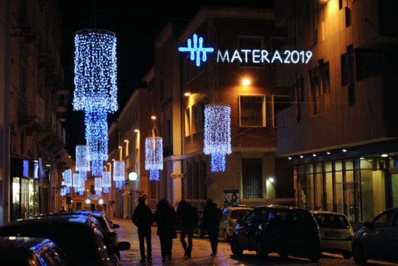 Luci di Natale a Matera (foto SassiLand)