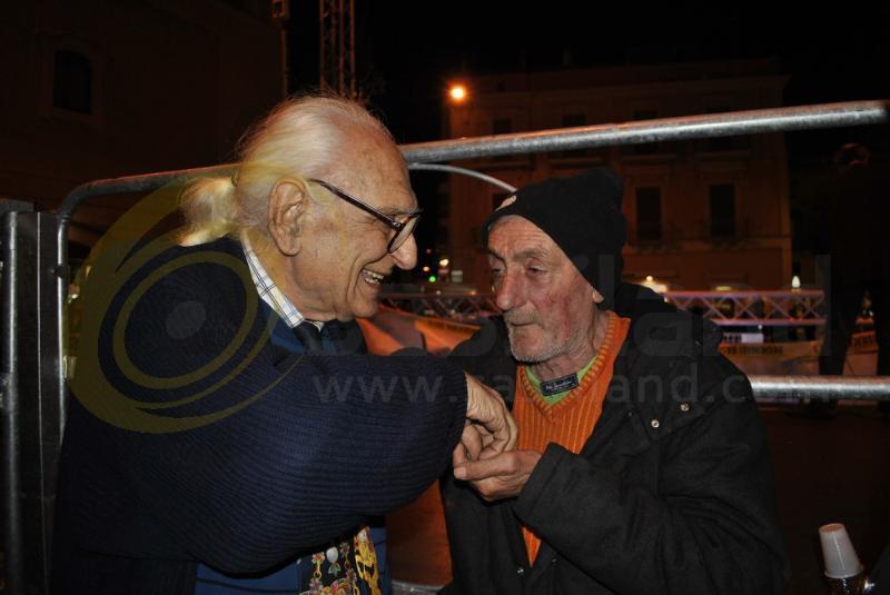 Marco Pannella a Matera - 9 novembre 2013 (foto SassiLand)