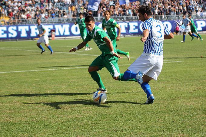 Matera Calcio nella partita contro il Monospolis - 23 settembre 2012 (foto Cosimo Martemucci)