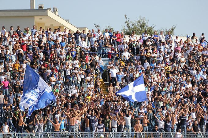 Tifosi - Matera Calcio vs Monospolis (foto Cosimo Martemucci) - 23 settembre 2012