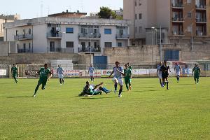 Azione, partita Matera Calcio vs Monospolis (foto Cosimo Martemucci)