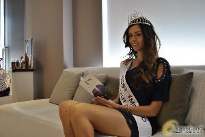 Miss Mondo Italia 2014, Silvia Cataldi a Matera - 26 luglio 2014 (foto SassiLand) - Matera