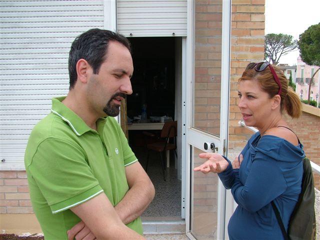 Sul set dell´ultimo film del regista e sceneggiatore Antonio Andrisani - Natale con chi vuoi