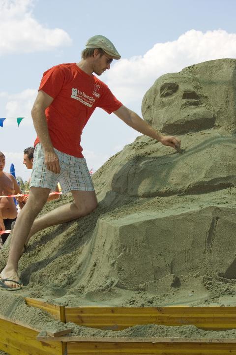 L´Universo di Pavel e Fergus a Meraviglie di Sabbia 2009