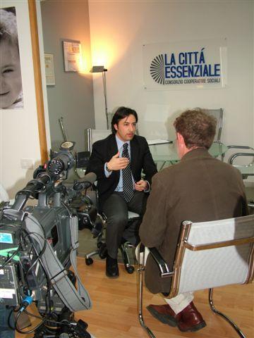 Il presidente del Consorzio Città Essenziale, Giuseppe Bruno (foto Martemix)