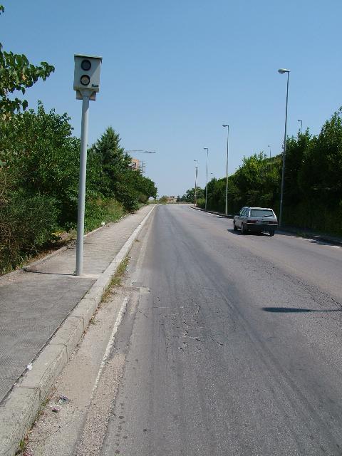 In viale Italia a 50 orari (foto martemix)