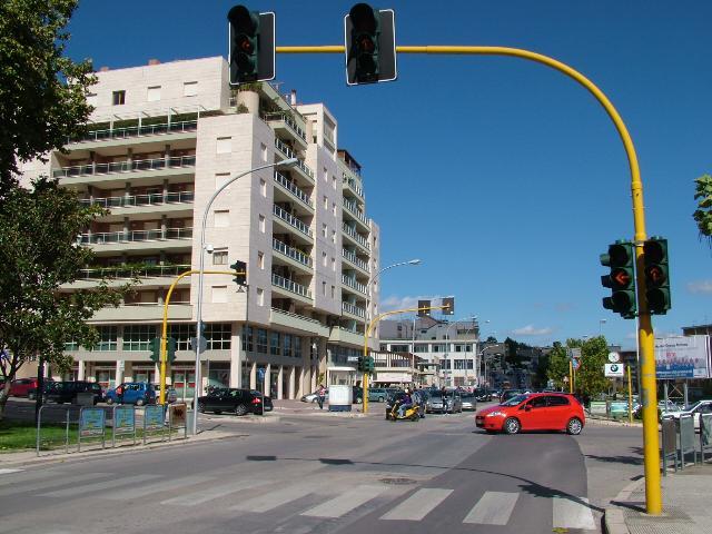 Semafori spenti in vari punti della città (foto martemix)