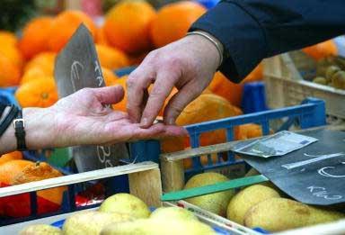 Vendita di prodotti alimentari