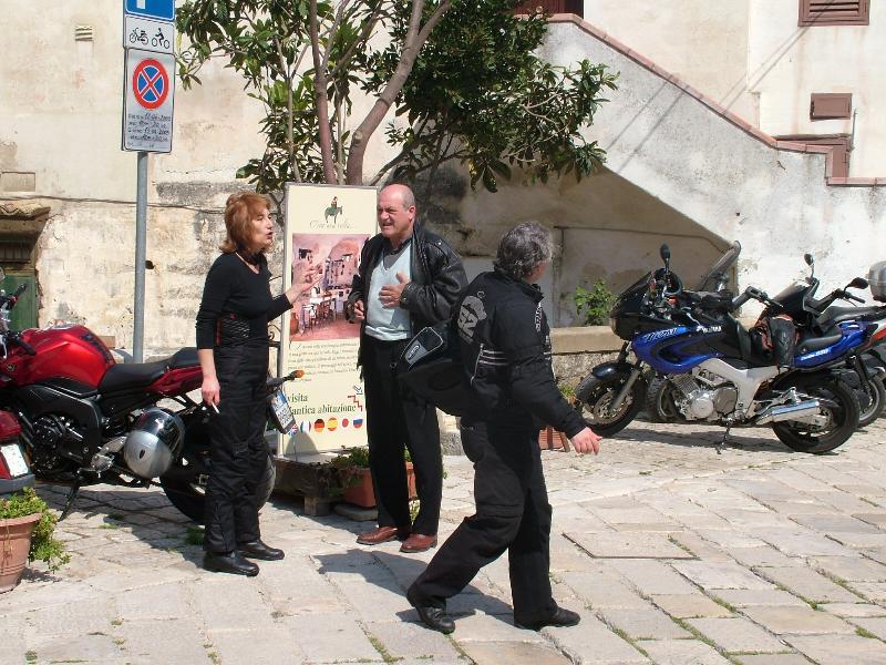 Motociclisti in gita a Matera