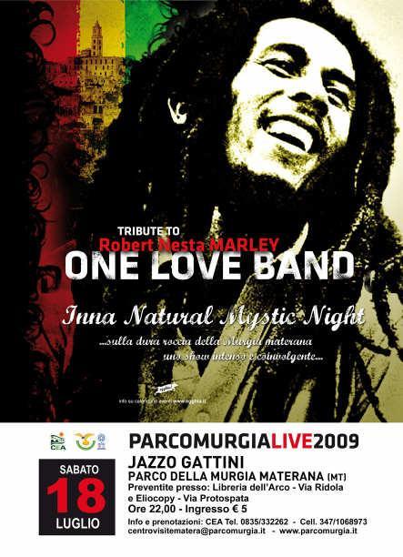 ONE LOVE BAND @ Jazzo Gattini - Parco Murgia Materana