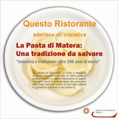 Pasta di Matera in tavola nei ristoranti