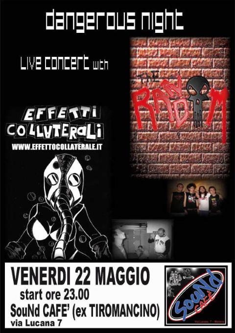 Matera trema con il punk/rock, venerdì 22 maggio !