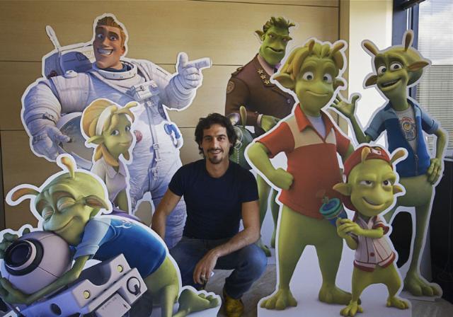 """Il materano Marco Regina presenta in anteprima nazionale """"Planet 51"""" il nuovo film d´animazione della Ilion Animation Studios"""