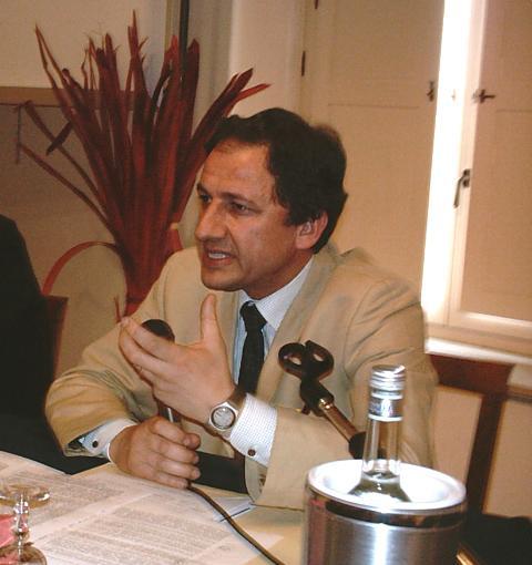 Eustachio Vincenzo Olivieri presidente degli architetti di Matera (foto Martemix)