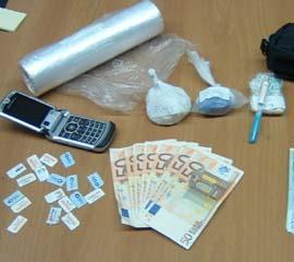 Tre arresti per droga a Matera