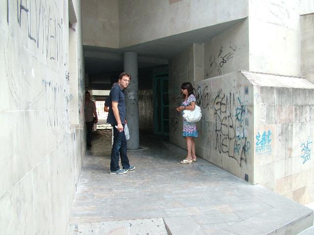 Al via i lavori di recinzione per Piazza Mulino (foto martemix)