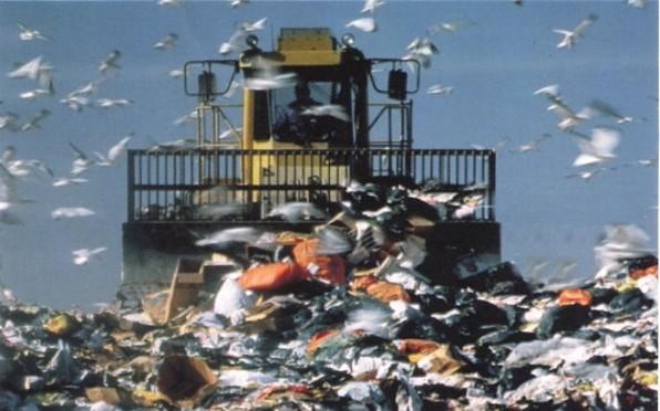 Raccolta rifiuti - discarica