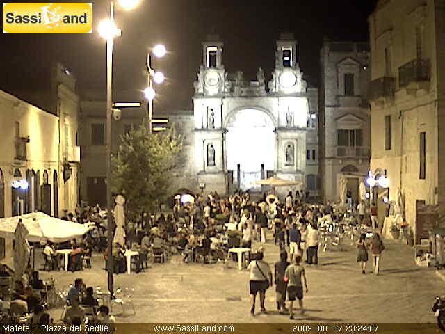 Webcam di SassiLand in Piazza Sedile - Matera