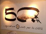 I 50 anni del circolo la scaletta