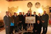 Presentazione bozzetto del Carro Trionfale della Bruna 2009