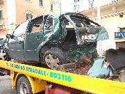 8 auto coinvolte in un incidente in via lucana a matera