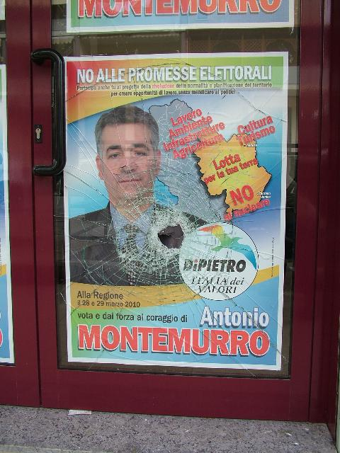 Anche Antonio Montemurro vittima di intimidazioni