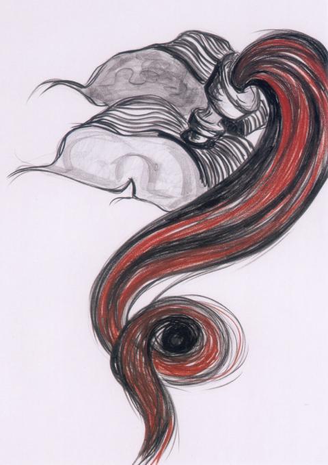 Lucilla Catania - Cloti Ricciardi - 12 disegni per due sculture