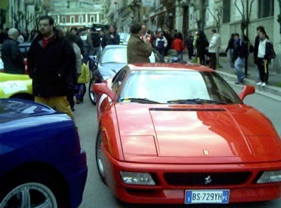 Tornano le Ferrari nei Sassi. Evento turistico a Matera
