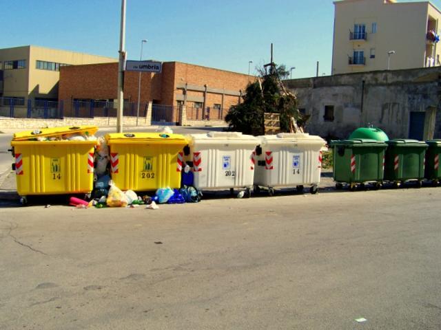 La raccolta differenziata a Matera