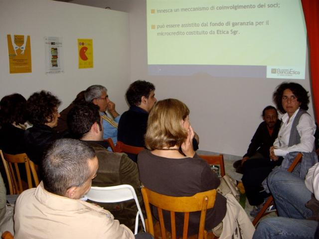 Resoconto dell´incontro con Banca Etica a Matera del 17 maggio 2010