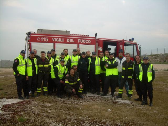 Si è concluso il corso per - Volontari antincendio a rischio elevato
