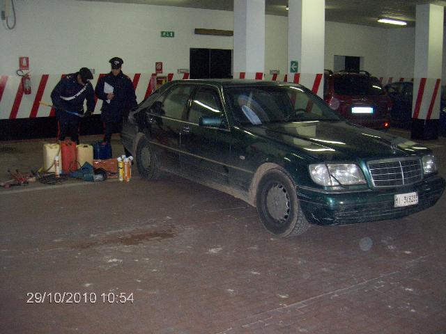 Auto rubata