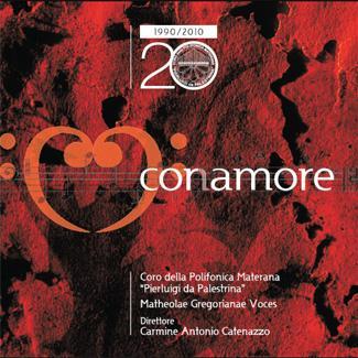 """CD Coramore, per celebrare i vent´anni di attività del Coro della Polifonica Materana """"Pierluigi da Palestrina"""""""