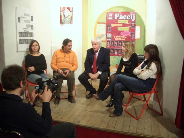 Conferenza stampa Talia Teatro del 30 novembre 2010