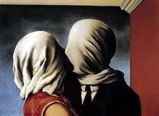 """Gli amanti"" di Magritte"