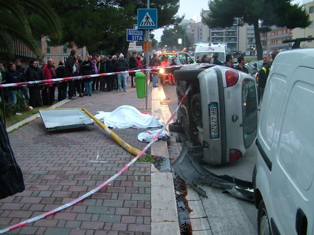 Il luogo dell´incidente (Foto Martemix)