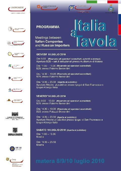 Italia a tavola - pagina 1