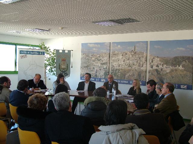 la conferenza di fine anno (Foto Martemix)