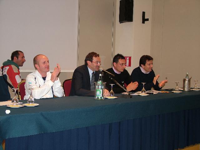 Galtieri, Tulliani, Tortorelli, Schiuma