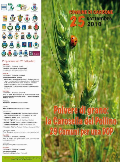Manifesto Carosella del Pollino
