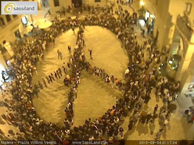 La citt di matera alla marcia della pace perugia assisi for Citta della spezia ultime notizie cronaca