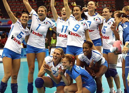 Nazionale pallavolo femminile - immagine di civisonline.it