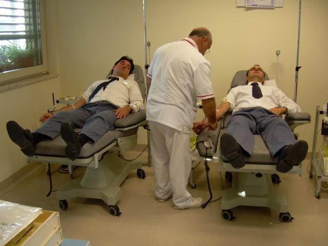 Polizia di Stato - donazioni di sangue