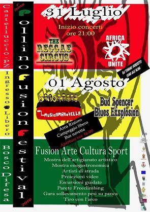 Pollino Fusion Festival 2010